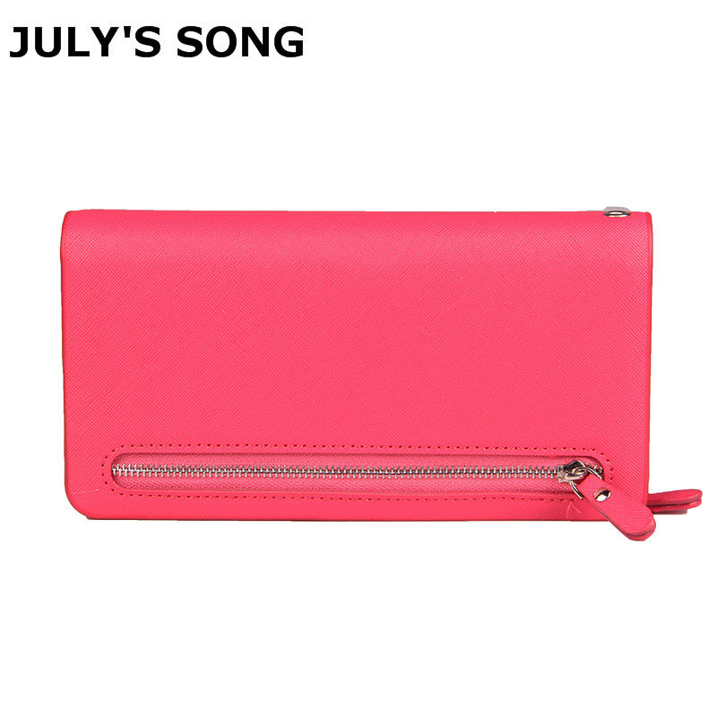 2018 Best Deal Fashion PU Handbags For Lady Popular Purse Long Card Holder Birthday Bags Women Wallets Bag 7COLORS 2017 new arrival fashion women wallet bag lady bags purse long bags pu handbags card holder high quality free shipping