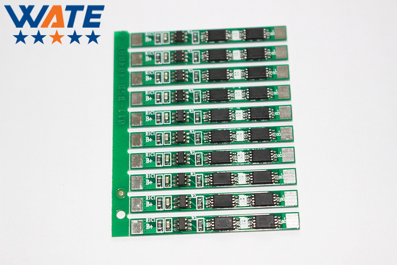 10PCS/LOT  1S 5A li-ion BMS PCM battery protection board for lithium li-ion battery pack LI01S8-015-LX1S5A 4a 5a pcb bms protection board for 3 packs 18650 li ion lithium battery cell 3s 2pcs