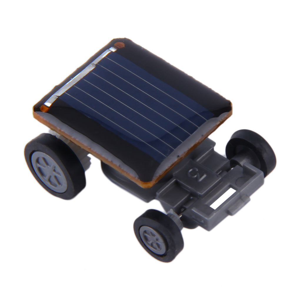 New Mini Solar Powered Racing Car Vehicle Educational Gadget Kids Gift Toy New Hot!