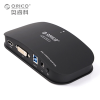 ORICO DHU3B BK USB3 0 To DVI HDMI External Graphics For 6 Computer Screen Extention Black