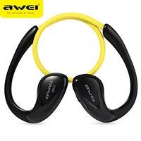 Awei A880BL Wireless Bluetooth Headphone NFC Sport Headset Cordless Super Bass Stereo Earphone With Microphone Earbuds