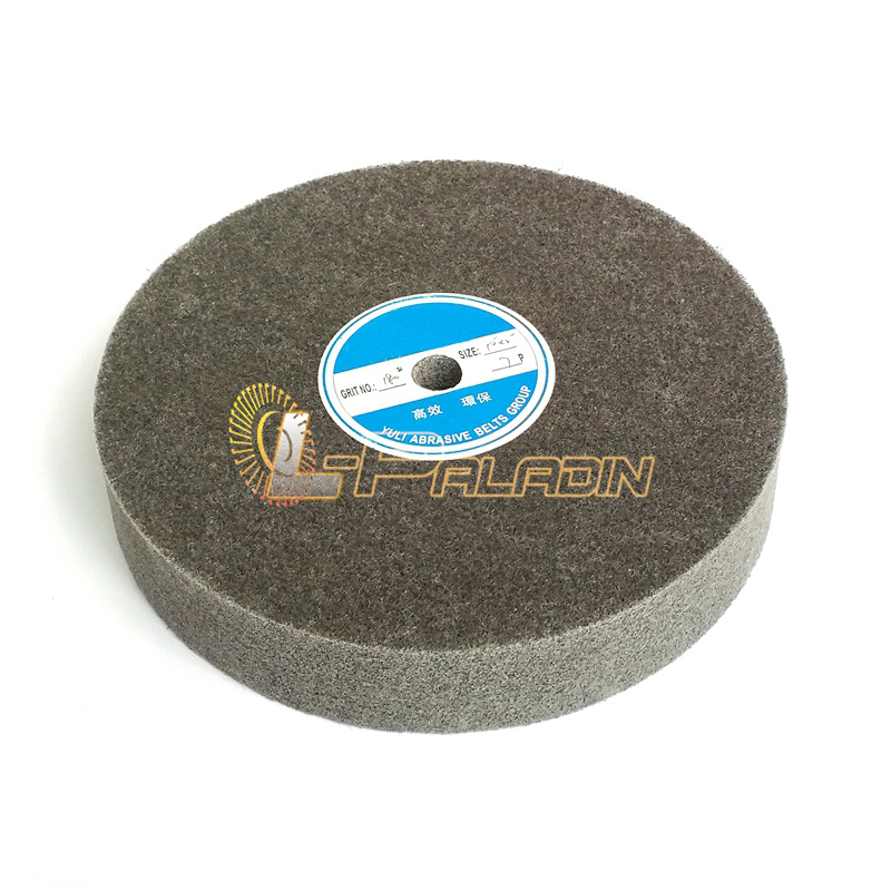 цена на 10*2 5P/7P/9P Silicon Carbide Non-woven Unitized Wheel P180 Nylon Grinding Wheel