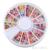 12000 PCS Mista Apartamento de Volta Redonda Faux Pérola Bead Bow DIY Nail Art Decoração Dica