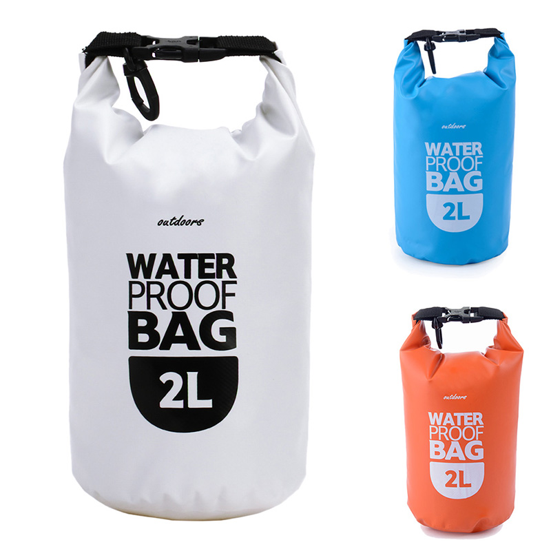 2L Ultralight Portable Waterproof Bags Outdoor Travel Drifting Rafting Canoe Swimming Camping Hiking Dry Bag Pouch High Quality