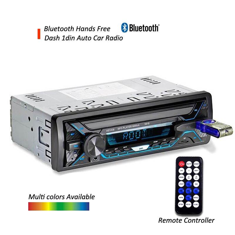 DYDNAUDIO D-3010 Dans Dash Bluetooth Auto radio ISO connecteur De Voiture stéréo lecteur avec mains libres appel téléphonique USB TF avant AUX-IN