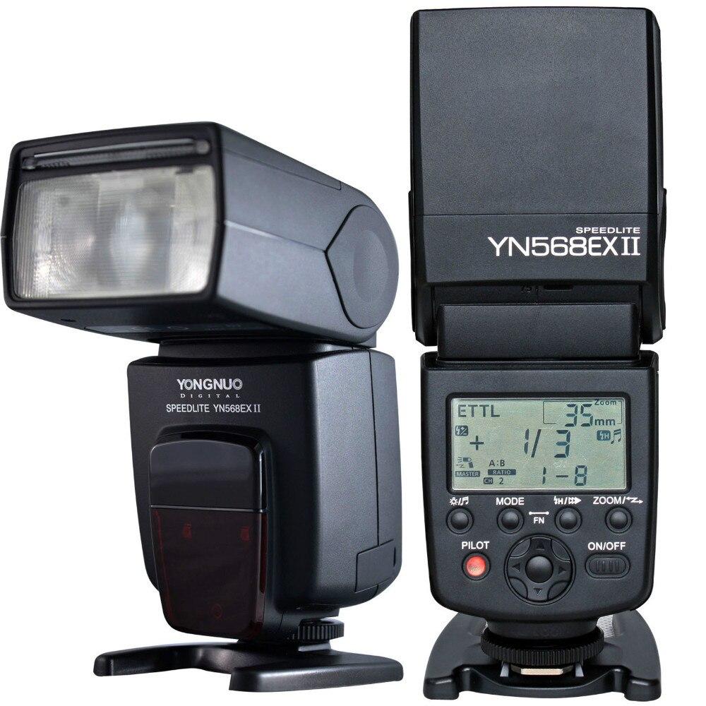 Galleria fotografica Yongnuo YN-568EX II YN568EX II Sans Fil TTL HSS Flash Speedlite pour <font><b>Canon</b></font> 5D3 5D2 6D 7D pour Nikon D800 D750 D7100