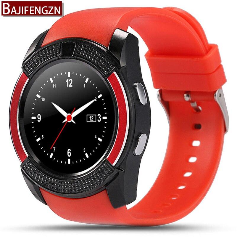 Galleria fotografica Q9 montre Smart watch Android <font><b>Smartwatch</b></font> caméra sync avec Bluetooth Facebook Whatsapp message soutien SIM/TF carte montre téléphone PK Q18