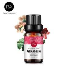 natural geranium oil Remove Relieve pain Acne Clean skin Relax Detox Chest massa