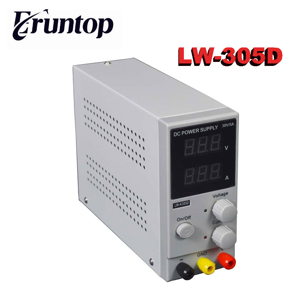 LW- K3010D 30V 10A Mini Switching Regulated Adjustable DC Power Supply SMPS Single Channel 30V 5A Variable Input 110V OR 220V original lw mini adjustable digital dc power supply 0 30v 0 10a 110v 220v switching power supply 0 01v 0 01a 34 pcs dc jack