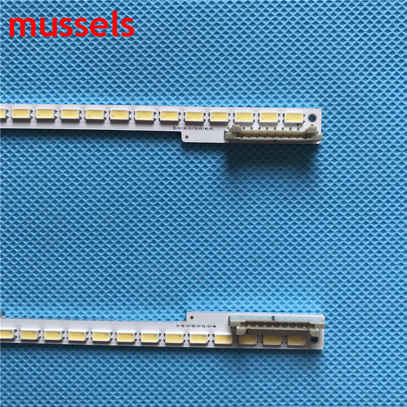 "Image 2 - LED Backlight strip For Samsung 55"" TV 100Lamp 680mm UA55D6400 UA55D6600WJ UA55D6000SJ BN64 01664A LTJ550HW05 2011SVS55 6.5K New-in Industrial Computer & Accessories from Computer & Office"