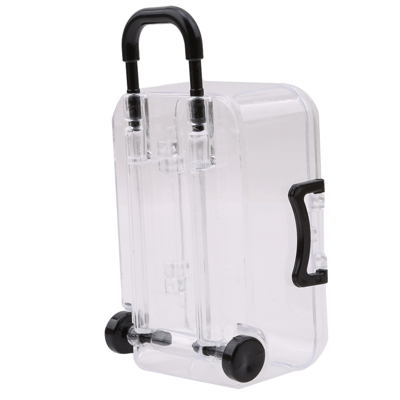 Party Favor Ideas For Wedding Reception: New Cute Mini Rolling Travel Suitcase Favor Box Wedding