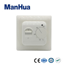 ManHua Warm-water Electronic Heating Systems 5W 230VAC SG-6000 LED Display Temperature Switch With IP20 Mechanical Thermostat