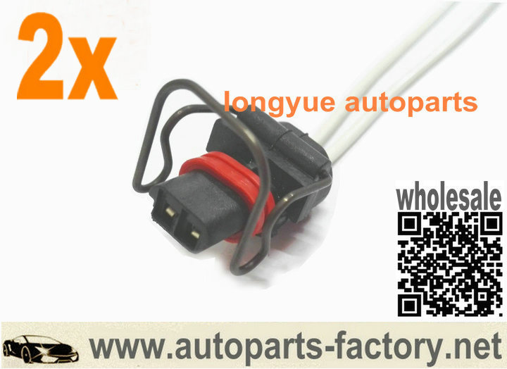 popular ford wiring buy cheap ford wiring lots from ford longyue 2pcs 7 3l powerstroke valve cover 2 wire injector pigtail accessories for ford 6