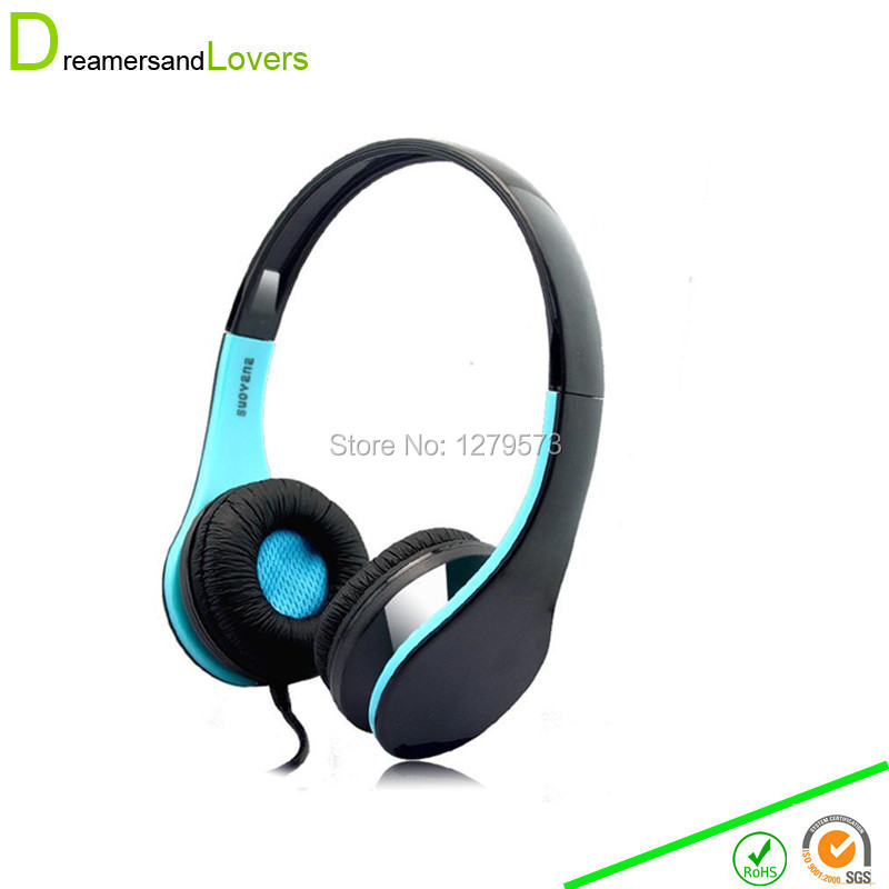 3.5mm PC Gaming Stereo Noise Canelling Headset Headphone Earphones with Volume Control Bluetooth Built in Mic For Iphone Laptop
