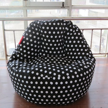 Large Bean Bag Chair Cover Computer Cotton Canvas Beanbags Free Shipping