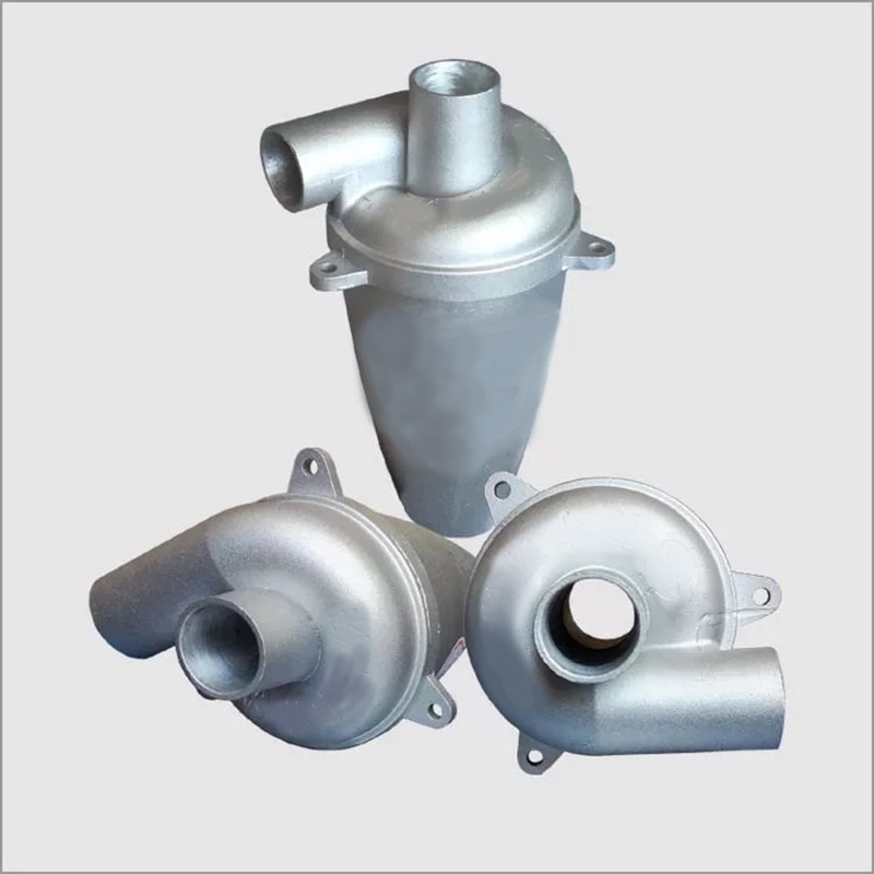 New Aluminium Turbo-Charging Cyclone Dust Filter Separator Collector Vacuums Cleaner High Efficiency Industrial Duct Collector