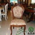 Cadeira de jantar da família, cadeira de jantar do hotel, cadeira de jantar de madeira, em estilo Europeu