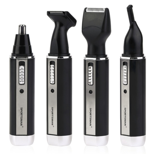4 In 1 Personal Waterproof Rechargeable Electric Men Male Ear Nose Trimmer Hair Clipper Shaver Beard Trimmer Machine