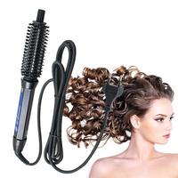 2016 Professional Iron Spin Salon Hot Air Hair Brush Style 100 High Quality