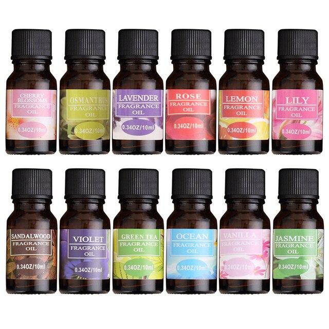 Aceite Esencial de fruta de flor soluble en agua para aliviar el estrés de la lámpara de fragancia humidificador ambientador de aire Aceite Corporal de aromaterapia TSLM1