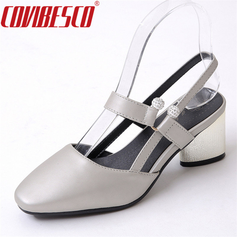 COVIBESCO Sexy Gladiator Ankle Straps High Heels Fashion Brand Women Sandals Summer Close Toe Sandalias Sexy Rhinestone Shoes new 2016 sexy gladiator ankle straps high heels fashion brand women sandal summer mixed colors open toe sandalias big size 34 43