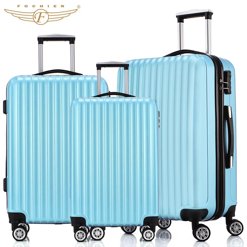 Popular 4 Wheel Luggage Lightweight-Buy Cheap 4 Wheel Luggage ...