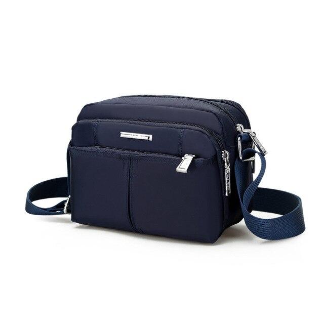 New 2018 Hot Small Men S Bag Original Nylon Waterproof Zipper Male Bags Casual Man Brand