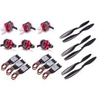 2212 920KV CW CCW Brushless Motor + 30A Simonk ESC with 3.5mm Connector + 1045 Prop for F450 F550 S550 F550 Multicopter