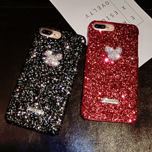 New Luxury Glitter diamond Phone Case For iPhone 7 X 6 6S 8 Plus Cover XS MAX XR 8Plus 7Plus Coque Funda