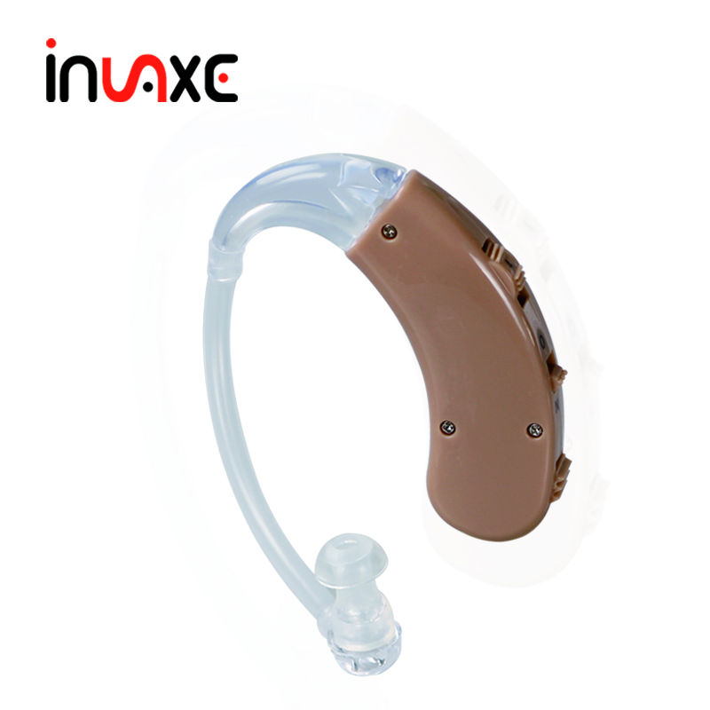 Invaxe Analog Digital Hearing Aid Cheap BTE Hearing Device Ear Care Anaya-Plus Hearing Aids Deaf Sound Amplifier acosound invisible cic hearing aid digital hearing aids programmable sound amplifiers ear care tools hearing device 210if