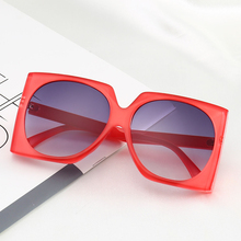 PAMASEN European Style Sunglasses Men Women Driving Square Sun Glasses Anti-glare Luxury