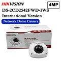 In magazzino trasporto libero versione inglese DS-2CD2542FWD-IWS Audio 4MP WDR Mini Dome di Rete con WIFI