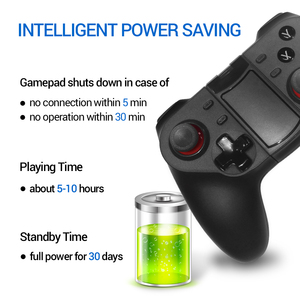 Image 4 - K ISHAKO Wireless Bluetooth Game Controller For Cell Phone Mobile Phone Joystick Controller for iPhone/ iPad/iOS/Android/Tablet