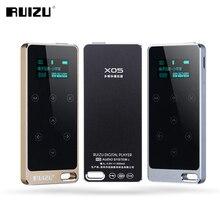 Pantalla TFT Original RUIZU X05 HI-FI 8 GB Reproductor de MP3 8 GB Botón Táctil Sin Pérdida de Sonido de la Ayuda FM, E-libro grabación Deporte Reproductor de Música