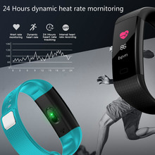 Smart Wristband blood pressure oxygen measurement fitness activity tracker Notification Armbands Step Tracker High Bright