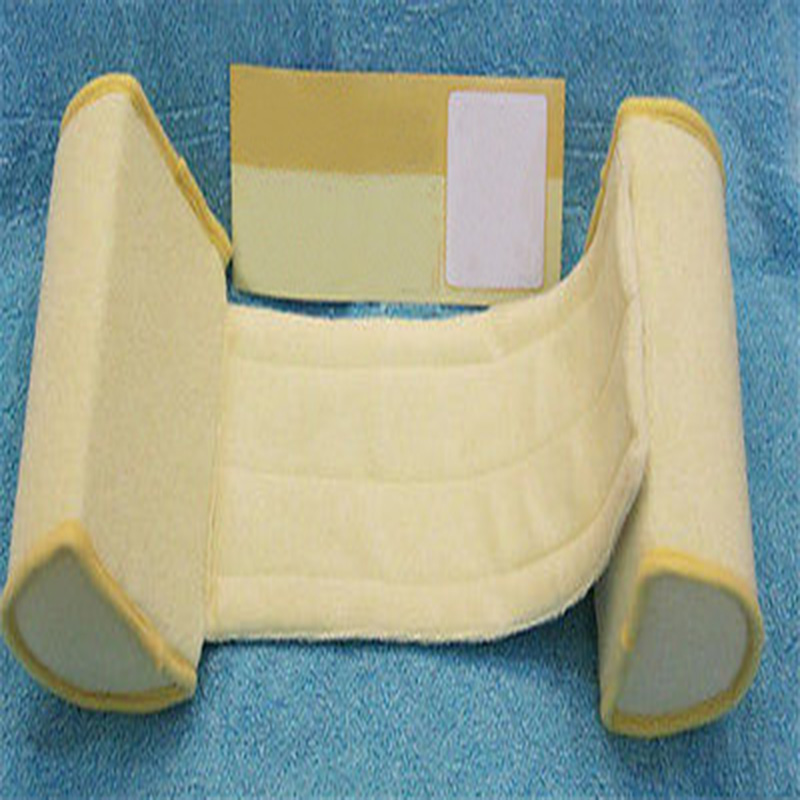 Baby Safe Cotton Anti Roll Support Pillow Sleep Head