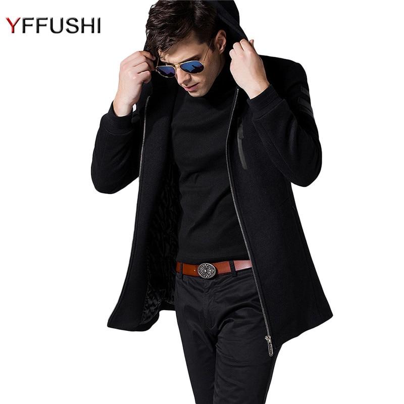 Popular Mens Full Length Wool Coat-Buy Cheap Mens Full Length Wool ...