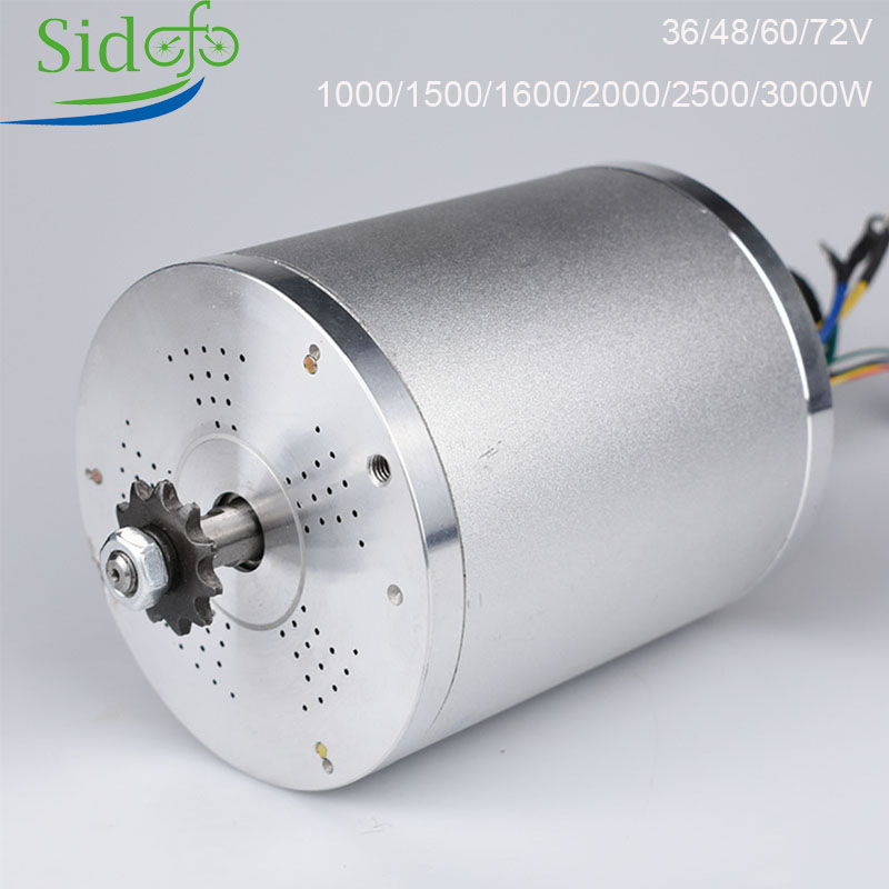 US $54 39 32% OFF|KRMY1020 Electric Bicycle Motor Accessories Brushless 36V  48V 72V 1000W 3000W BLDC Scooter eBike Engine Modifications DIY-in