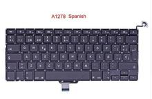New Spanish Keyboard For MacBook Pro 13″ A1278 SP keyboards 2008 2009 2010 2011 2012