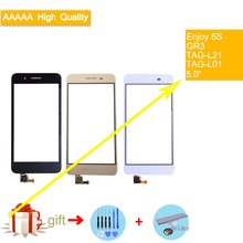 For Huawei Enjoy 5S GR3 TAG-L21 TAG-L01 TAG-L03 TAG-L13 TAG-L22 Touch Screen Touch Panel Sensor Digitizer Glass Touchscreen huawei gr3 lte grey tag l21