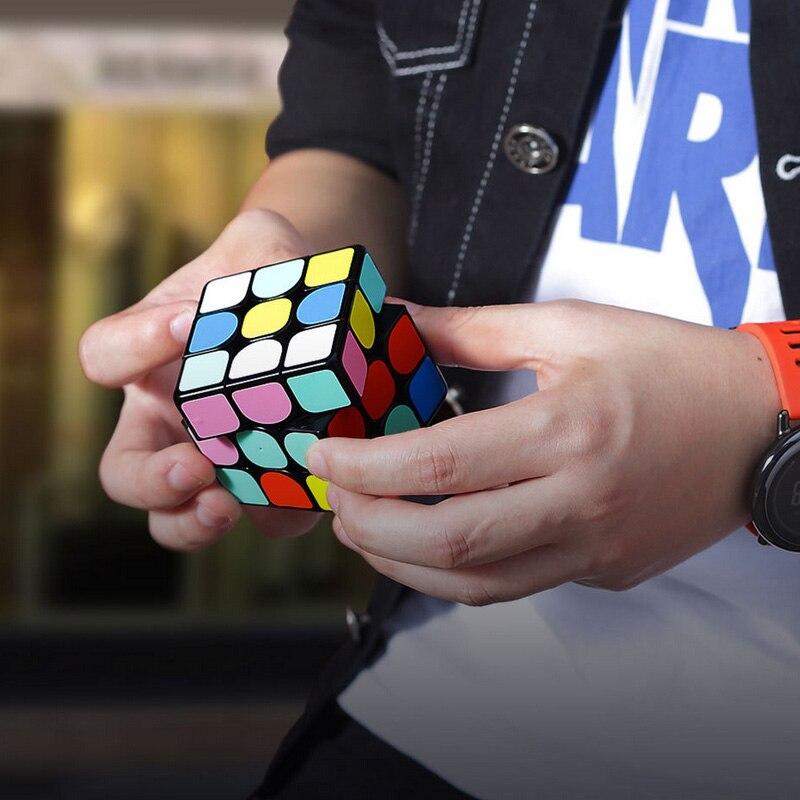 2019 versión actualizada Original caliente Xiaomi Giiker Super Rubik cubo I3S inteligente magia magnética Bluetooth APP Sync puzle Juguetes cubo - 3