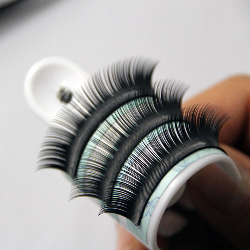 2f1c5771bbb 1pc/lot All Size Faux Mink Eyelash Extensions Silk Eye Lashes 3d eyelashes  Individual False Eyelashes Super Soft Natural Look-in False Eyelashes from  Beauty ...