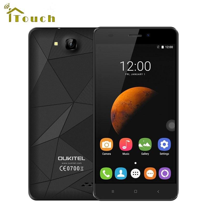 "bilder für Oukitel c3 android 6.0 3g smartphone 5,0 ""MT6580 Quad Core 1280x720 5MP Kamera 1G RAM 8G ROM Dual SIM Bluetooth4.0 Handy"