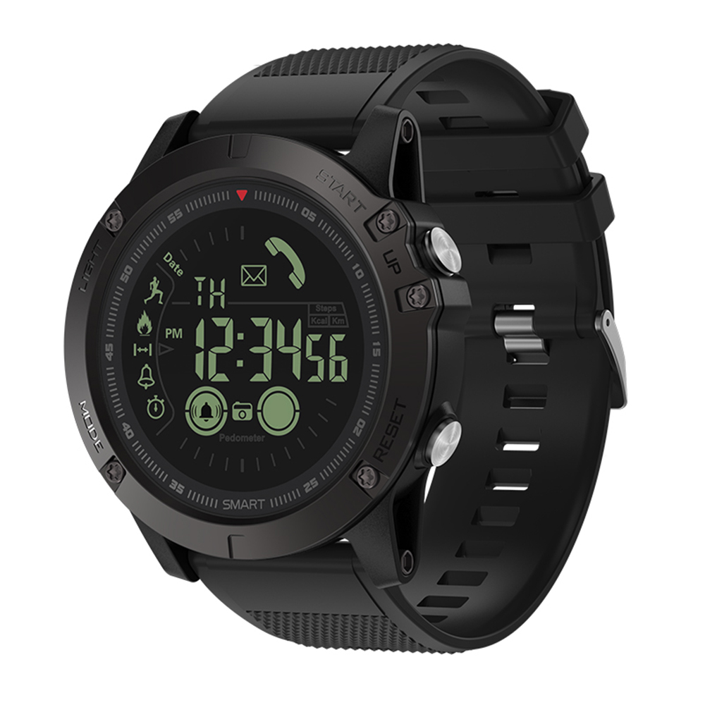 Zeblaze VIBE 3 BT4.0 Smart Watch 5ATM Waterproof Sports Wrist Band Smartwatch Pedometer Remote Camera Compatible IOS & Android orologio delle forze speciali