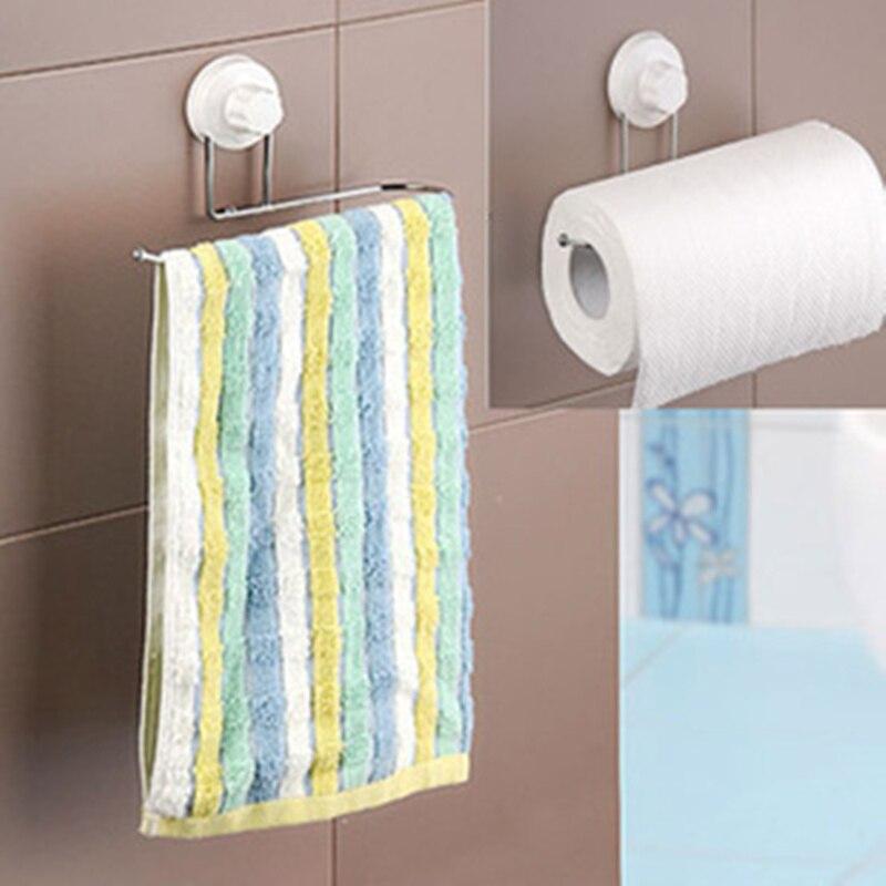 Brand new towel holder sucker towel rack kitchen tissue holders ...