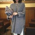 2016 новая осень/весна Материнства свитера пальто и верхняя одежда вязаный свитер беременных одежда