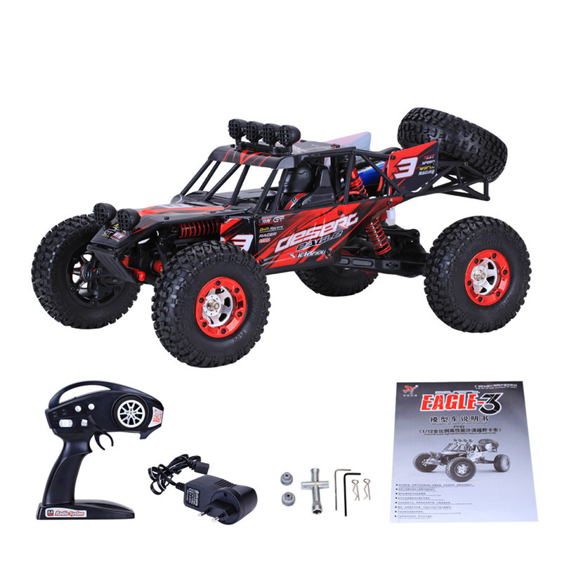 2017 New FY03 1:12 Scale Racing 4WD Car 1500Mah 35km/h 2.4G High Speed Fast Race Car Four-wheel Remote Control Off Road Truck