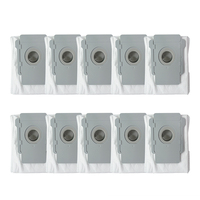 Top Sale 10 Pcs For Irobot Roomba I7 I7+ Plus E5 E6 Robot Vacuum Cleaner Dust Bag Filter Bags Robotic Vacuum Cleaner Bag Acces