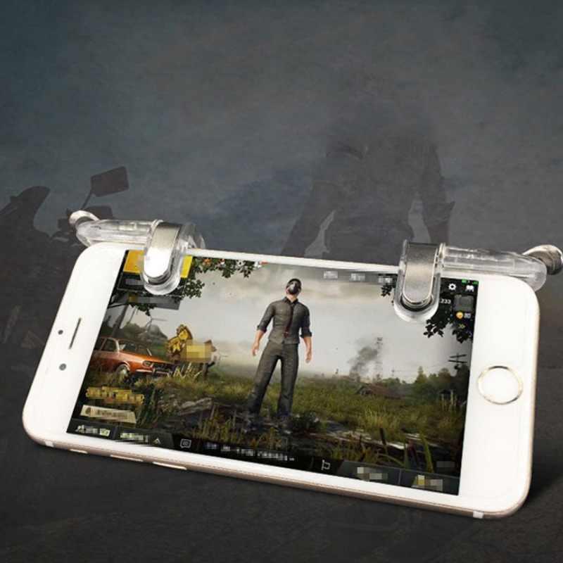 Универсальный геймпад мобильный триггер управления для сотового телефона геймпад управления Лер огонь L1R1 игровой шутер для Iphone Android джойстик