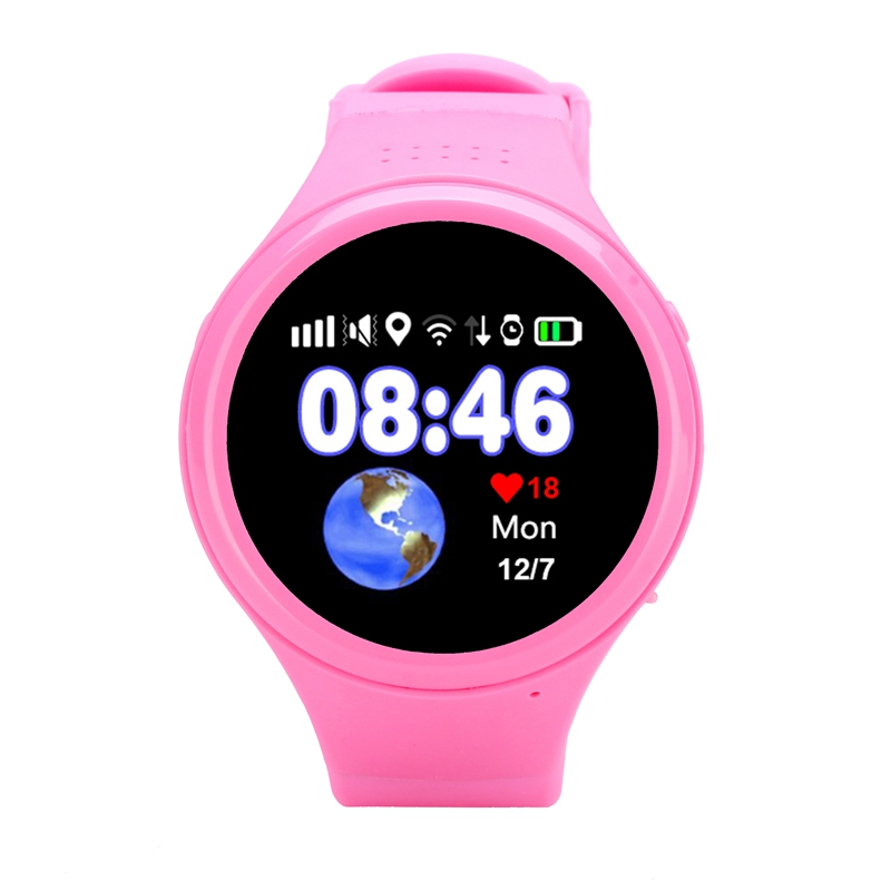 suqy New Child Smart Watch With GPS Global Positioning Baby Watchs Kid Safe Anti-Lost Monitor SOS Call Location Device Tracker smart baby watch g72 умные детские часы с gps розовые